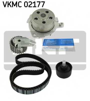 Водяной насос + комплект зубчатого ремня SKF VKMC 02177 - изображение 1