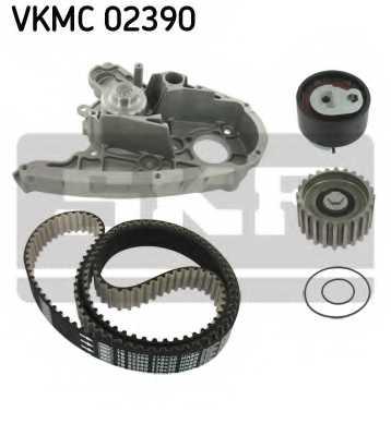 Водяной насос + комплект зубчатого ремня SKF VKMC 02390 - изображение 1