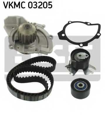 Водяной насос + комплект зубчатого ремня SKF VKMC 03205 - изображение