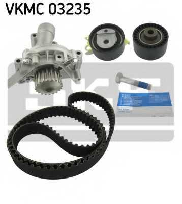 Водяной насос + комплект зубчатого ремня SKF VKMC 03235 - изображение 1