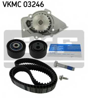 Водяной насос + комплект зубчатого ремня SKF VKMC 03246 - изображение 1