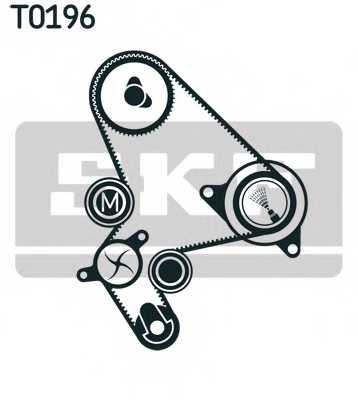 Водяной насос + комплект зубчатого ремня SKF VKMC 03248 - изображение