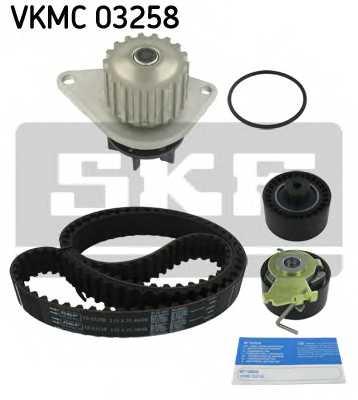 Водяной насос + комплект зубчатого ремня SKF VKMC 03258 - изображение