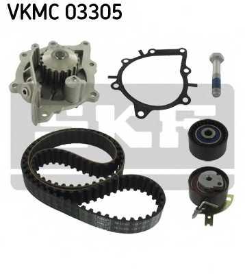 Водяной насос + комплект зубчатого ремня SKF VKMC03305 - изображение 1