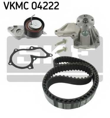 Водяной насос + комплект зубчатого ремня SKF VKMC 04222 - изображение