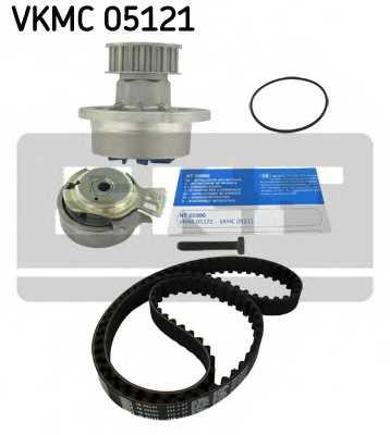 Водяной насос + комплект зубчатого ремня SKF VKMC 05121 - изображение