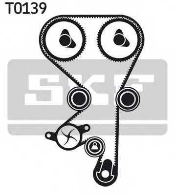 Водяной насос + комплект зубчатого ремня SKF VKMC 05152-1 - изображение 1