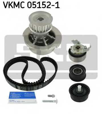 Водяной насос + комплект зубчатого ремня SKF VKMC 05152-1 - изображение
