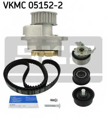 Водяной насос + комплект зубчатого ремня SKF VKMC 05152-2 - изображение