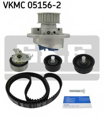 Водяной насос + комплект зубчатого ремня SKF VKMC 05156-2 - изображение