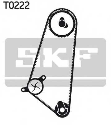 Водяной насос + комплект зубчатого ремня SKF VKMC 05401 - изображение 1
