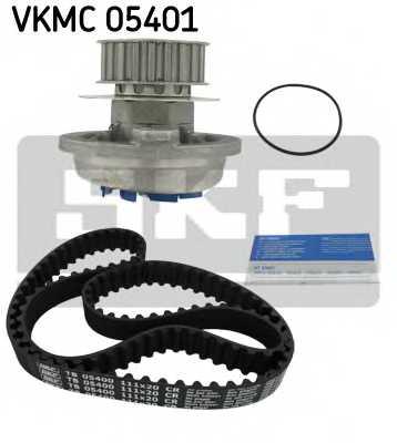 Водяной насос + комплект зубчатого ремня SKF VKMC 05401 - изображение