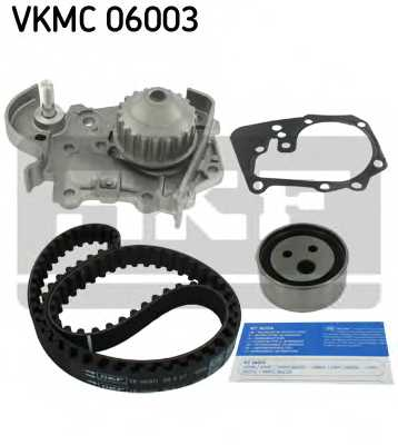 Водяной насос + комплект зубчатого ремня SKF VKMC 06003 - изображение