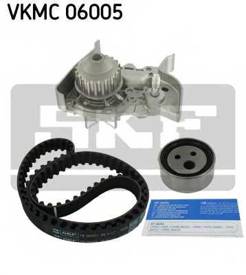 Водяной насос + комплект зубчатого ремня SKF VKMC06005 - изображение