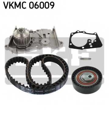 Водяной насос + комплект зубчатого ремня SKF VKMC 06009 - изображение 1