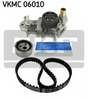 Водяной насос + комплект зубчатого ремня SKF VKMC06010 - изображение