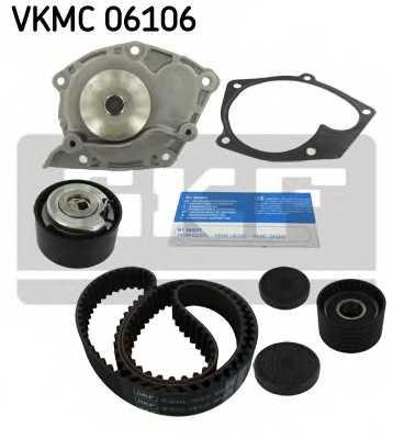 Водяной насос + комплект зубчатого ремня SKF VKMC 06106 - изображение 1