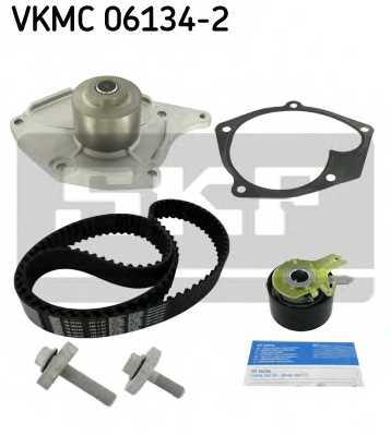 Водяной насос + комплект зубчатого ремня SKF VKMC 06134-2 - изображение