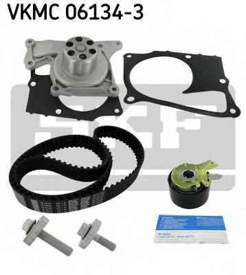 Водяной насос + комплект зубчатого ремня SKF VKMC 06134-3 - изображение 1