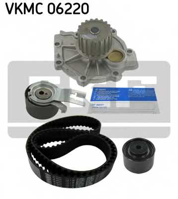 Водяной насос + комплект зубчатого ремня SKF VKMC 06220 - изображение