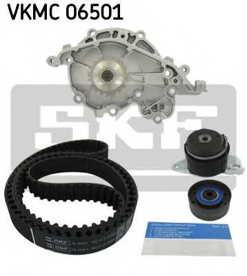 Водяной насос + комплект зубчатого ремня SKF VKMC 06501 - изображение 1