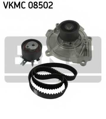 Водяной насос + комплект зубчатого ремня SKF VKMC 08502 - изображение