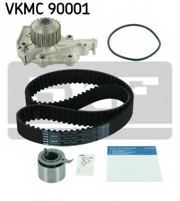 Водяной насос + комплект зубчатого ремня SKF VKMC 90001 - изображение