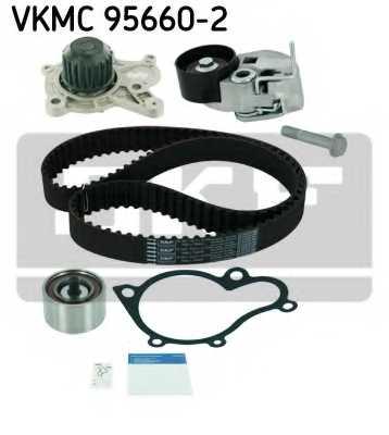 Водяной насос + комплект зубчатого ремня SKF VKMC 95660-2 - изображение 1
