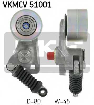 Натяжной ролик поликлиновогоременя SKF VKMCV51001 - изображение
