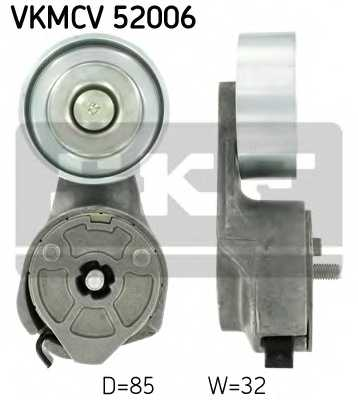 Натяжной ролик поликлиновогоременя SKF VKMCV 52006 - изображение