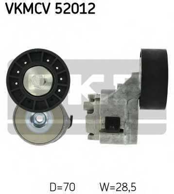 Натяжной ролик поликлиновогоременя SKF VKMCV 52012 - изображение
