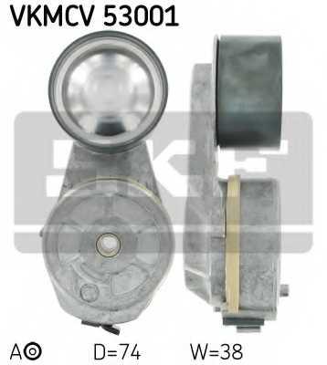Натяжной ролик поликлиновогоременя SKF VKMCV 53001 - изображение