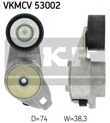 Натяжной ролик поликлиновогоременя SKF VKMCV 53002 - изображение
