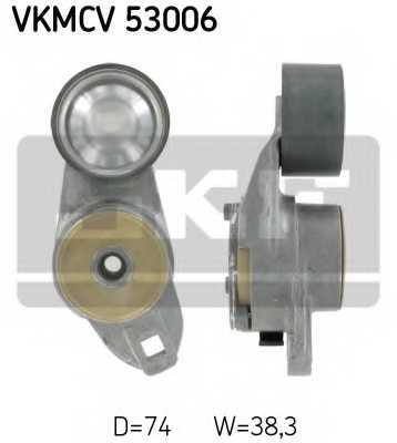 Натяжной ролик поликлиновогоременя SKF VKMCV 53006 - изображение