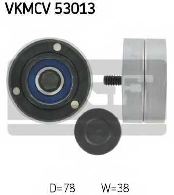 Паразитный / ведущий ролик поликлинового ременя SKF VKMCV 53013 - изображение