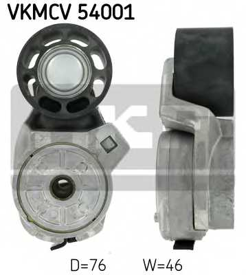 Натяжной ролик поликлиновогоременя SKF VKMCV 54001 - изображение
