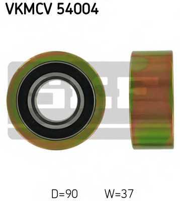 Паразитный / ведущий ролик поликлинового ременя SKF VKMCV 54004 - изображение