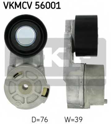 Натяжной ролик поликлиновогоременя SKF VKMCV 56001 - изображение
