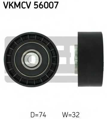 Паразитный / ведущий ролик поликлинового ременя SKF VKMCV 56007 - изображение