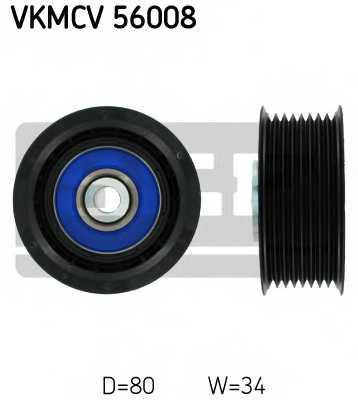 Паразитный / ведущий ролик поликлинового ременя SKF VKMCV 56008 - изображение