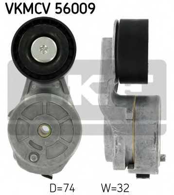 Натяжной ролик поликлиновогоременя SKF VKMCV 56009 - изображение