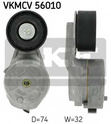 Натяжной ролик поликлиновогоременя SKF VKMCV 56010 - изображение