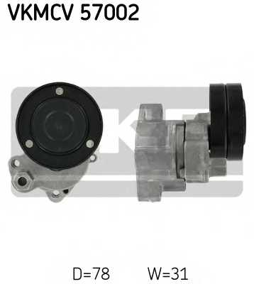 Натяжной ролик поликлиновогоременя SKF VKMCV 57002 - изображение