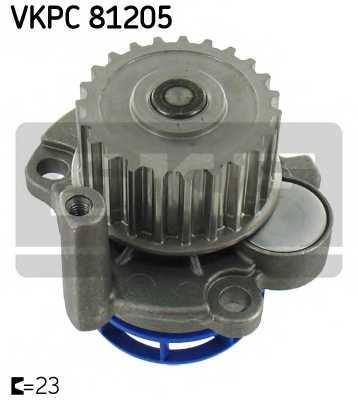 Водяной насос SKF VKPC 81205 - изображение
