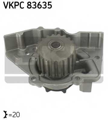 Водяной насос SKF VKPC 83635 - изображение
