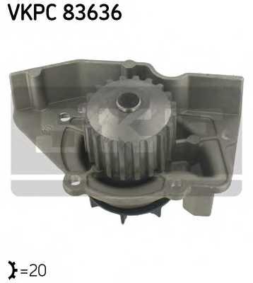 Водяной насос SKF VKPC 83636 - изображение