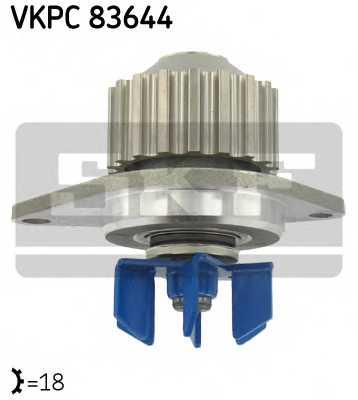 Водяной насос SKF VKPC 83644 - изображение