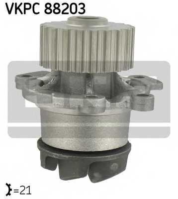 Водяной насос SKF VKPC 88203 - изображение