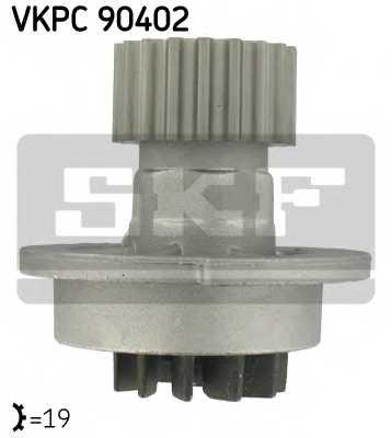 Водяной насос SKF VKPC 90402 - изображение