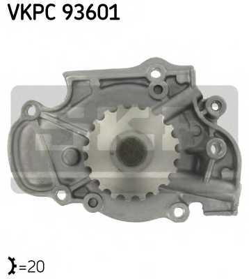 Водяной насос SKF VKPC 93601 - изображение